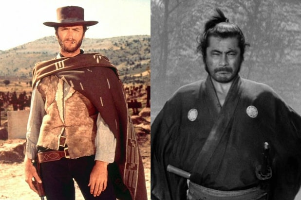 A Fistful of Dollars Yojimbo
