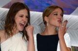 Adele Exarchopoulos Lea Seydoux Cannes