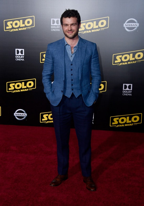 "Alden Ehrenreich Premiere Of Disney Pictures And Lucasfilm's ""Solo: A Star Wars Story"" - Arrivals"