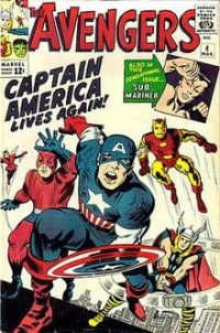 Avengers Issue 4 (1964)