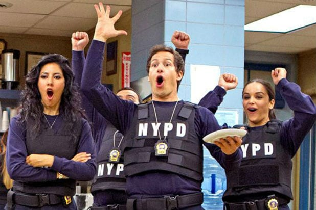 Brooklyn Nine-Nine': the Squad Freaks Out Over NBC Revival - 'NINE ...