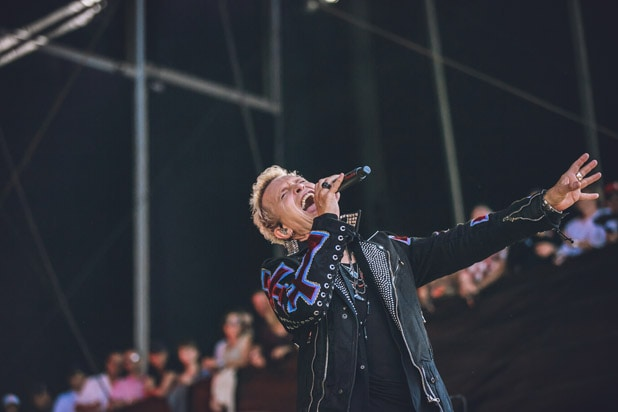 Billy Idol BottleRock Music Festival