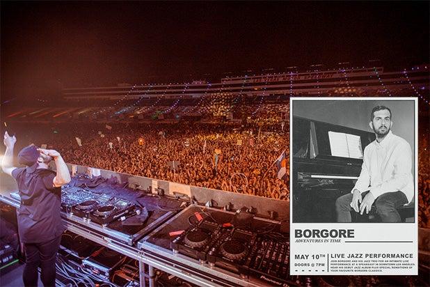 Borgore Israeli DJ Jazz Album