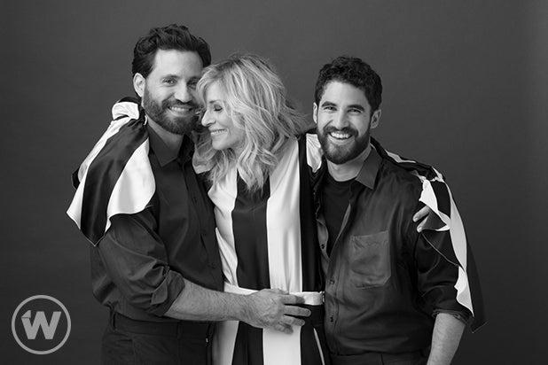 Édgar Ramírez, Judith Light and Darren Criss