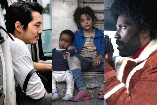Cannes contenders