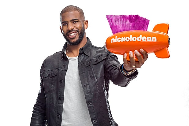 Chris Paul Nickelodeon