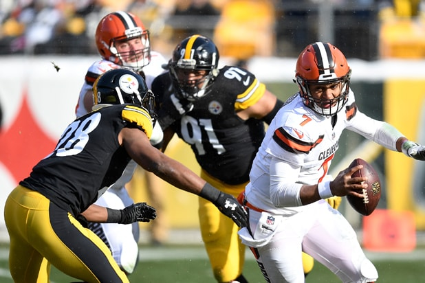 Cleveland Browns Pittsburgh Steelers