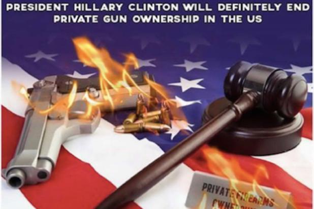 Clinton Gun Meme