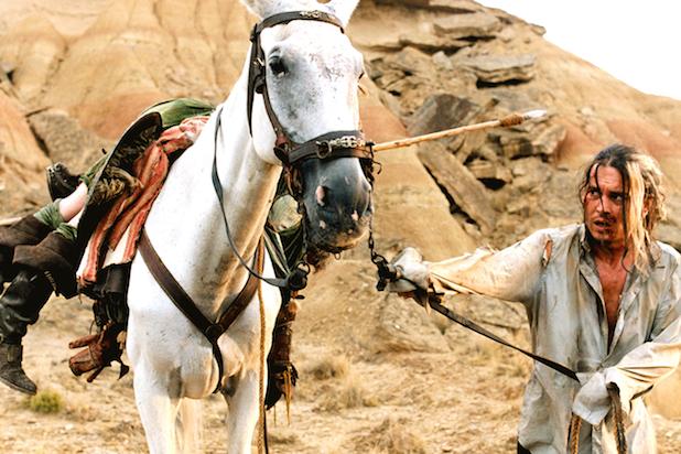Johnny Depp Lost in La Mancha