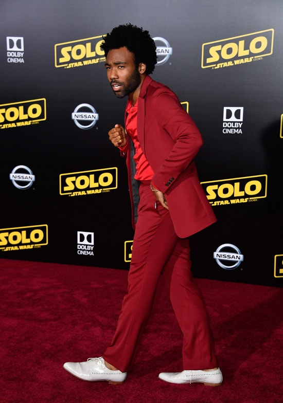 """Donald Glover Premiere Of Disney Pictures And Lucasfilm's """"Solo: A Star Wars Story"""" - Arrivals"""