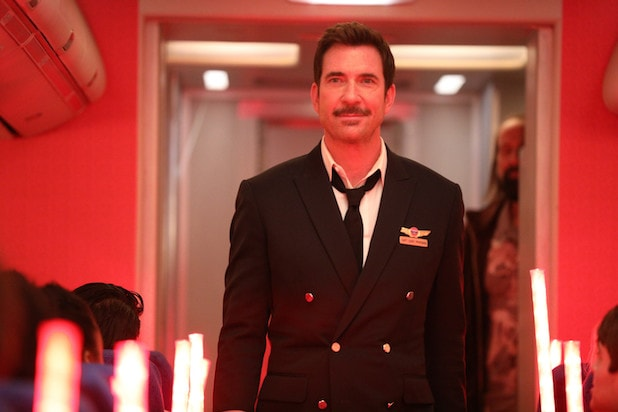 Dylan McDermott LA to Vegas