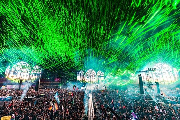 EDC 2018 Lasers Lights