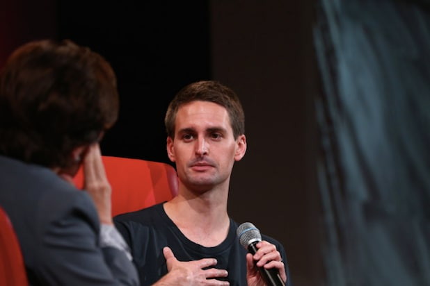 Evan Spiegel Snap CEO