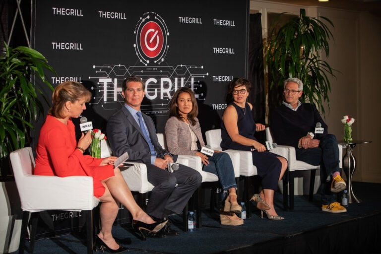 Sharon Waxman, Ross Gerber, Charlotte Koh, Kathleen Grace, Sam Register The Grill Special Event