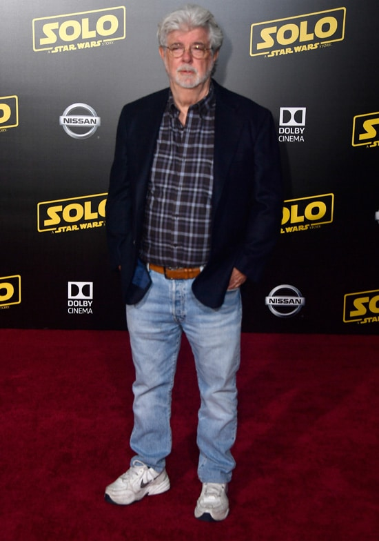 """George Lucas Premiere Of Disney Pictures And Lucasfilm's """"Solo: A Star Wars Story"""" - Arrivals"""