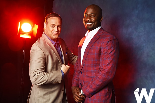 Matt Iseman and Akbar Gbajabiamila, American Ninja Warrior