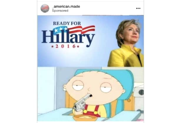 Instagram Ready for Hillary Meme