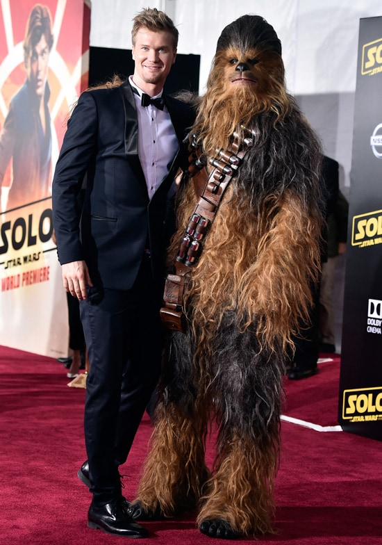 """Joonas Suotamo Chewbacca Premiere Of Disney Pictures And Lucasfilm's """"Solo: A Star Wars Story"""" - Arrivals"""
