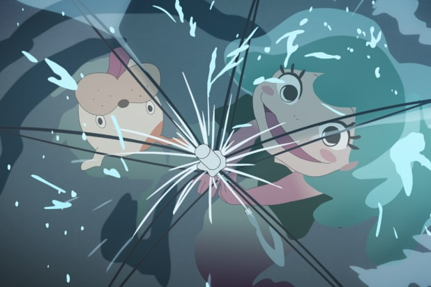 Lu Over The Wall Film Review Wild Mermaid Anime Defies Categorization