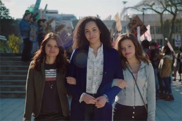 Madeleine Mantock, Melonie Diaz, Sarah Jeffery - Charmed