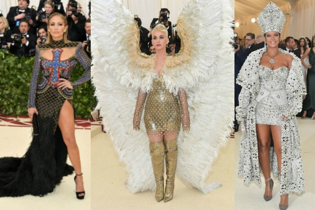 Met Gala Jennifer Lopez Katy Perry Rihanna