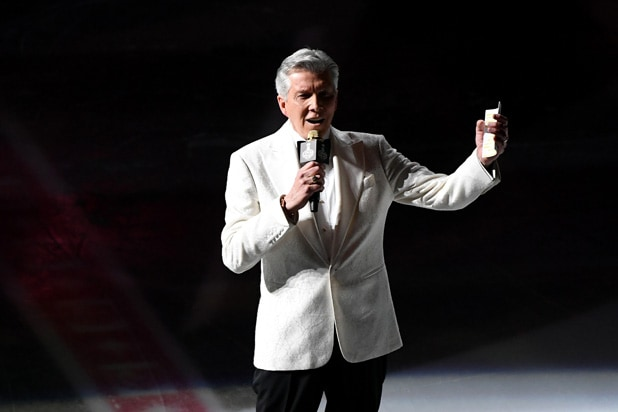 Michael Buffer Golden Knights
