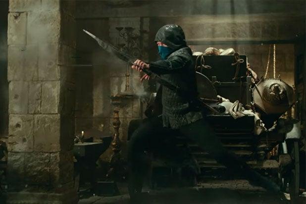 Robin Hood Trailer Taron Egerton