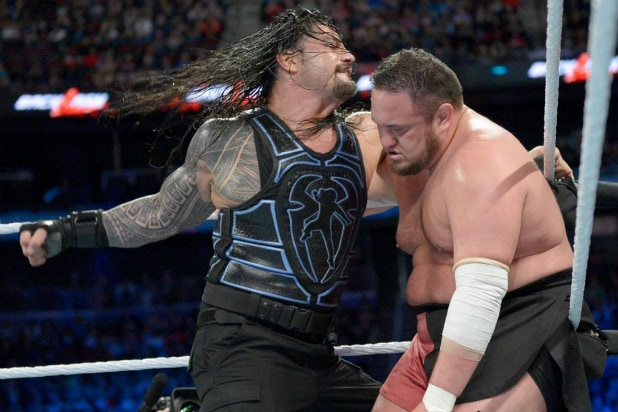 Roman Reigns vs Samoa Joe at WWE 'Backlash'