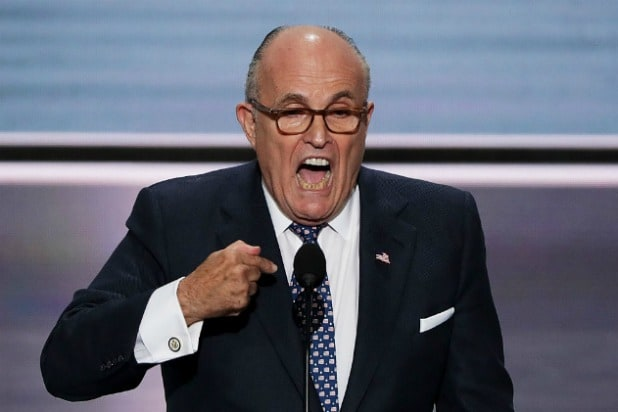 Rudy Giuliani Says There's 'Nothing Wrong With Taking Information From Russians' (Video)