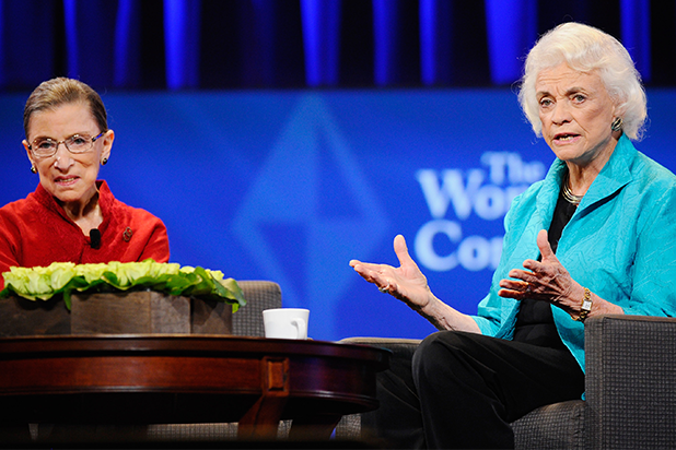 Ruth Bader Ginsburg and Sandra Day O'Connor