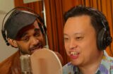 Sanjaya and William Hung on 'Jimmy Kimmel Live'