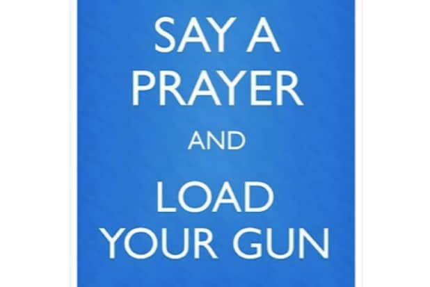Say A Prayer Load Your Gun Russian Meme