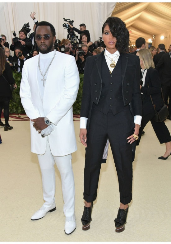 Sean 'Diddy' Combs and Cassie