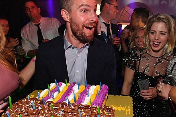Stephen Amell Fillies Cupcakes