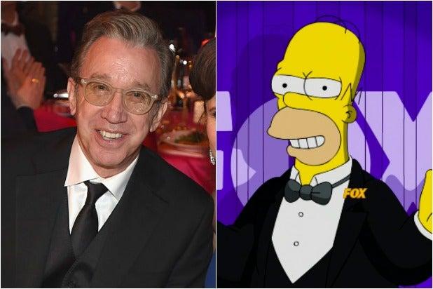 Tim Allen Homer Simpson
