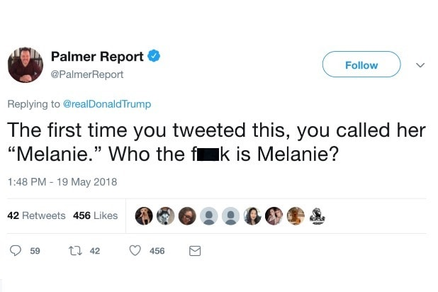 Trump Tweet reaction