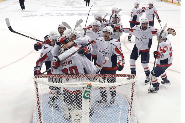 Capitals advance to Stanley Cup Final