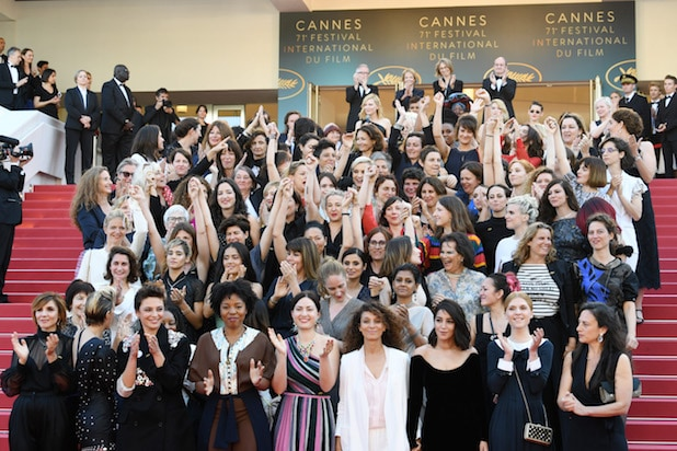 Womens March at Cannes