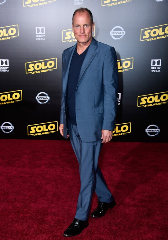 """Woody Harrelson Premiere Of Disney Pictures And Lucasfilm's """"Solo: A Star Wars Story"""" - Arrivals"""