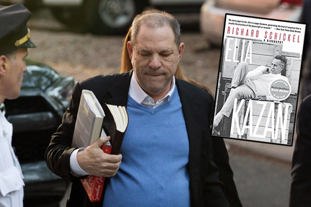 Harvey Weinstein's Bizarre Arrest Day Reading List Includes Bio of Hollywood Pariah Elia Kazan
