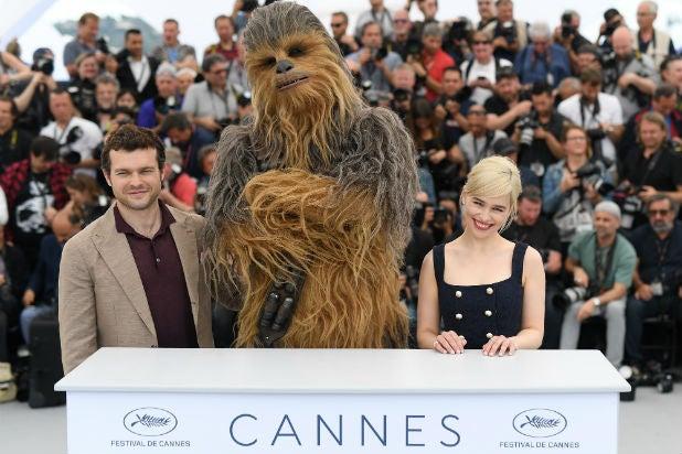 chewbacca cannes film festilval