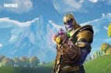 fortnite avengers infinity war mashup thanos infinity gauntlet stones