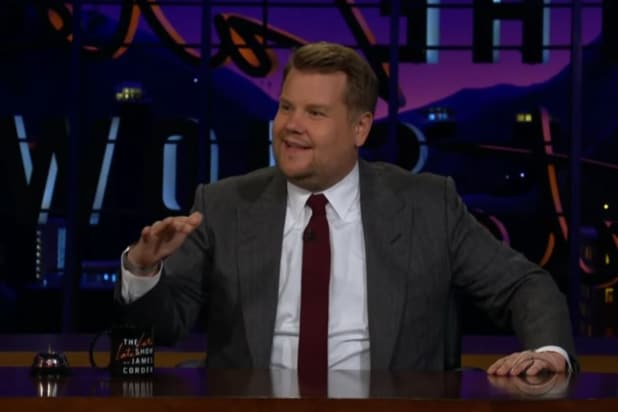James Corden Says He Nearly Sneezed In the Middle of the Royal