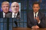 late night with seth meyers donald trump and rudy giuliani are liars