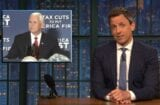 late night with seth meyers mike pence sucks just as much as donald trump a closer look