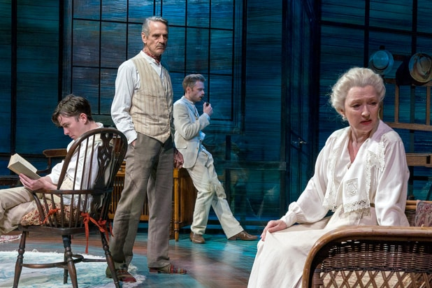 long day's journey into night jeremy irons lesley manville