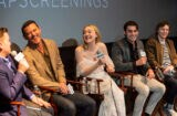 Luke Evans, Dakota Fanning, Alex Rich, Evan Peters Outstanding Limited Series Panel