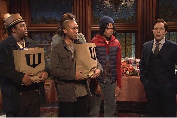 snl best sketches chance the rapper wayne thanksgiving batman
