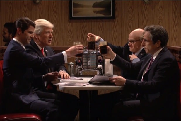snl saturday night live alec baldwin donald trump sopranos finale parody michael cohen ben stiller robert deniro robert mueller