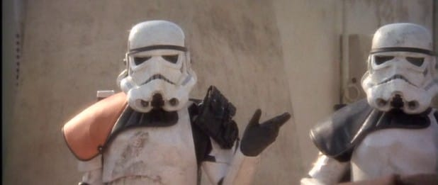 stormtroopers say move along solo a star wars story recycled moments